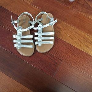 Gap silver sandals